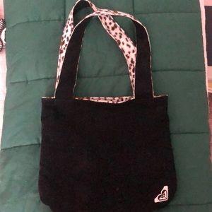Corduroy and Fuzzy Leopard  Rockabilly Roxy Bag